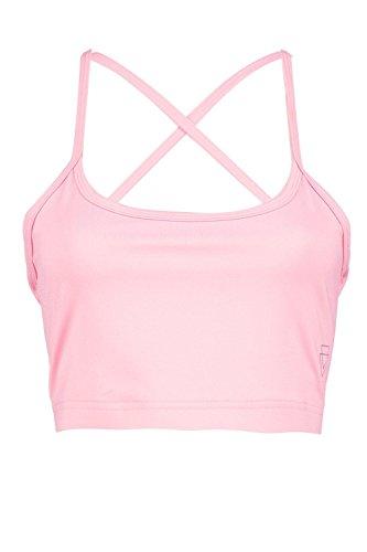 Rose Femmes Rosie Fit Soutien-gorge De Sport Yoga À Bretelles Rose