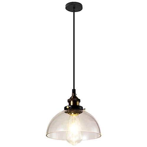 Pendelleuchten aus Glas Modern Kreative Esstisch Hängeleuchten Höhenverstellbar Aus Metall und mundgeblasenem Glas Design, für Wohnzimmer Esszimmer Küche Schlafzimmer Innenbeleuchtung E27 -