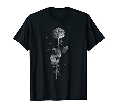 Rose-hexe (Occult Mond Moon Rose Vintage Witchcraft Okkultismus Hexe T-Shirt)