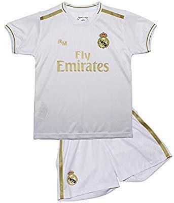 Conjunto Camiseta pantalón 1ª equipación Real Madrid
