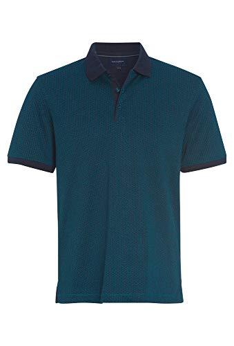 Paul R.Smith Gemustertes Poloshirt mit Kragen hellblau,3XL