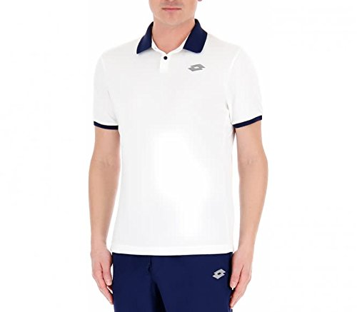 Lotto Sport Dragon Tech II Tee Homme S White/Blu uWWcdyTPHZ