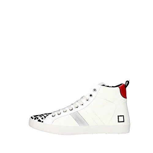 D.a.t.e. HILL HIGH-22 Sneakers Femme Cuir Blanc Blanc