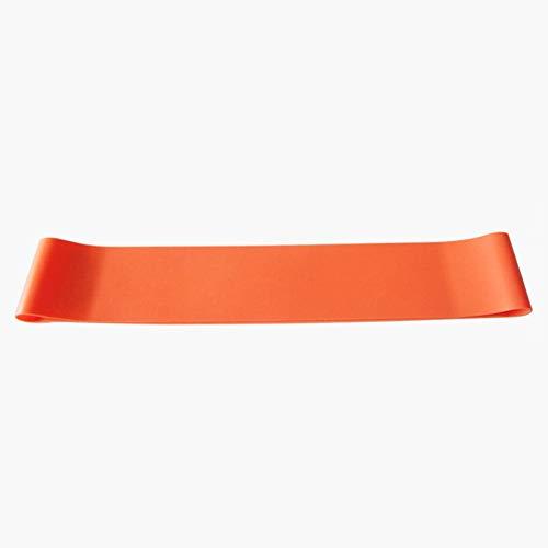 Ogquaton fascia elastica per il fitness fascia elastica assistita pull up band per allenamento con i pesi forza yoga stretch mobilità esercizio per uomini e donne 1 pz arancione di alta qualità
