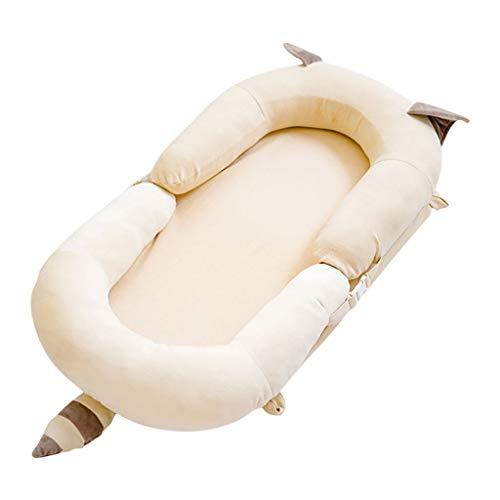 HUYP Baby Girl Sleep Pod Nouveau-né Grand Cuddle 0-2 Ans Garçon Matelas De Voyage Portable