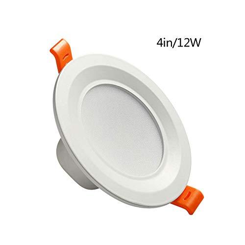 Pinjeer LED Antirreflejos Ahorro de energía Focos empotrables para Interiores Interruptores empotrables...