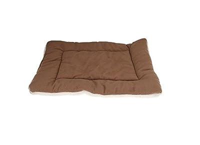 Fendii Dog Crate Mat Pad Cover Pet Bed Cushion Comfort Pet Nap and Crate Mat Dog Blanket Pet Fleece Cat Bed Soft Warm Sleep Mat
