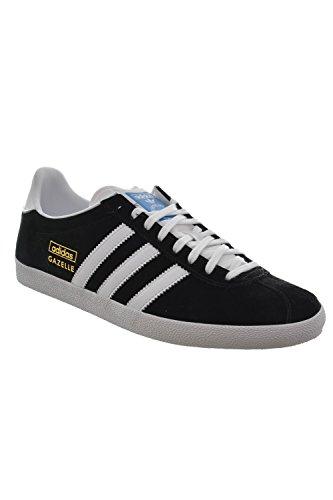 adidas Gazelle OG Schuhe 6,5 black/white/met.gold