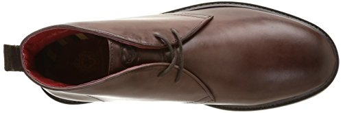 Base London Stephenson, Derby homme Marron (Waxy Brown)