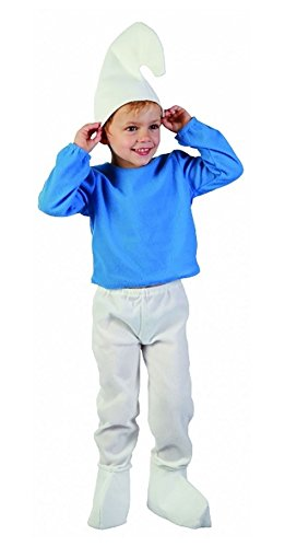 ngen Toodler ELF Schlumpf Gnome Kost�m Kinder M�dchen Fancy Xmas Party Out Fit Kleid WF7502 Unter 4 Jahren Jungen (Kleinkind Schlümpfe Kostüme)