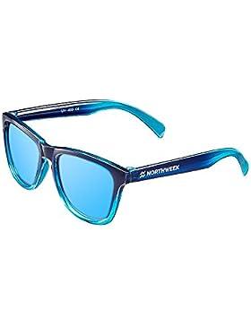 NORTHWEEK Kids Patrol - Gafas de Sol para Niños Polarizadas, Unisex, Azul Hielo