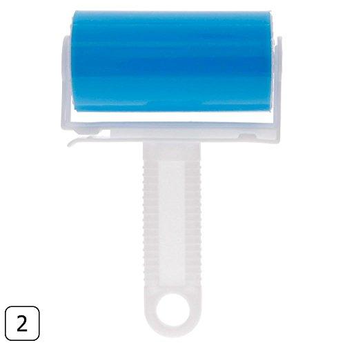 CALISTOUK - Limpiador rodillo pegajoso limpiador pelo