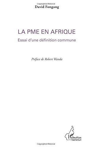 La PME en Afrique par David Fongang