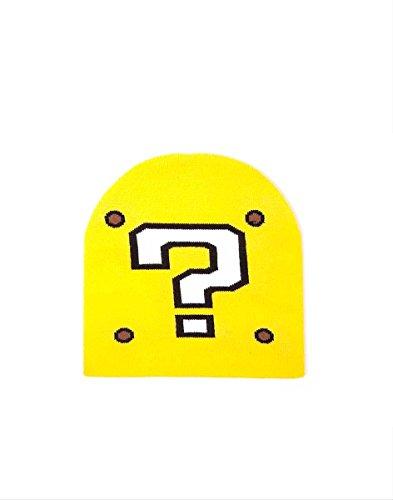 Meroncourt Nintendo Super Mario Bros. , Gorro de Punto Unisex Adulto, Amarillo,...