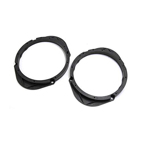 Miki&Co 2 schwarz Kunststoff Auto Car Stereo Spacer Adapter Speaker Spacer
