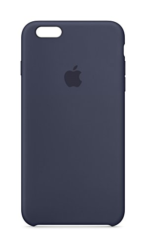 Apple MKXL2ZM/A Silicone Mobile Case for iPhone 6s Plus (Midnight Blue)
