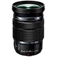 Olympus M.Zuiko Digital ED 12-100 mm 1:4.0 IS Pro Lens for Camera - Black