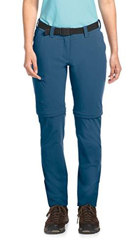 Maier Sports Damen Inara Slim Zip Outdoorhose, Ensign Blue, 72