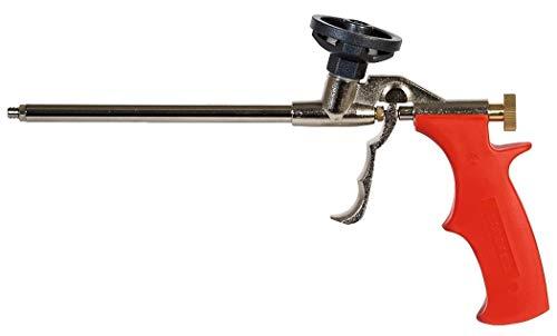 fischer Metallpistole PUPM 3 - Schaumpistole aus Metall mit PTFE-beschichtetem Schraubadapter - Für die schnelle und professionelle Verarbeitung von Einkomponenten-Montageschäumen - 1 Stück - Art.-Nr. 33208