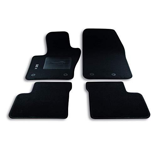 Bottari 39041 Set de 4 tapis de sol sur mesure en velours pour 500X 2014 - ....