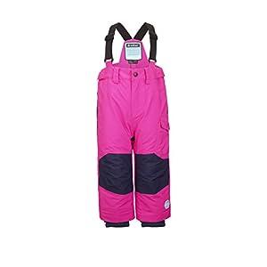 Killtec Mädchen Panny Mini Skihose / Funktionshose mit Trägern und Schneefang, GROW UP Funktion – Kindermode die mitwächst
