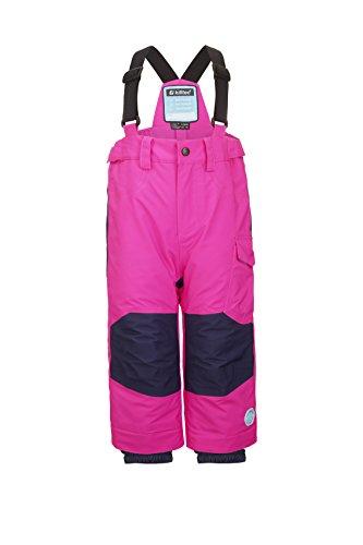 Killtec Mädchen Panny Mini Skihose, neon pink, 122/128