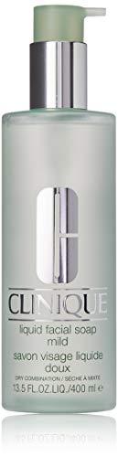 Mild Gesicht (Clinique Liquid Facial Soap Mild, 1er Pack (1 x 400 ml))