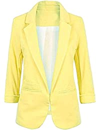 d92993438 Imbry Boyfriend Blazers for Women Cool and Fashionable Casual Suit Coat  Jacket