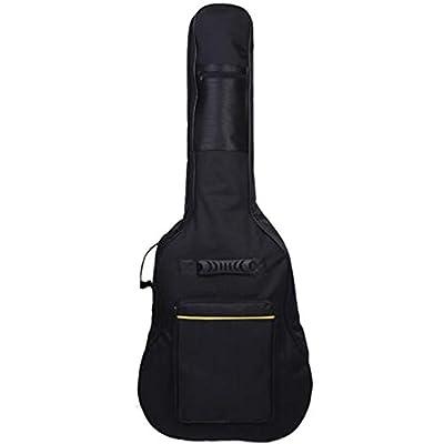 Vnfire 41 Inch Classical Acoustic Guitar Gig Bag Case with Adjustable Shoulder Strap Black