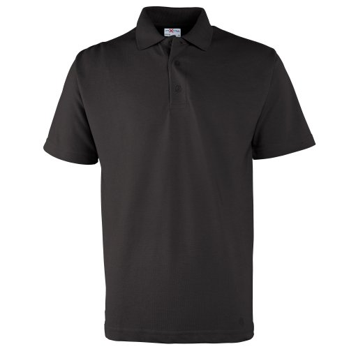 RTXtra Herren Polo Shirt Klassik Schwarz