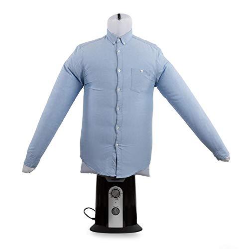oneConcept ShirtButler Corps gonflable • Séchoir automatique à air chaud • Séchage et repassage de S à L • Multi-taille • pour oneConcept ShirtButler • blanc