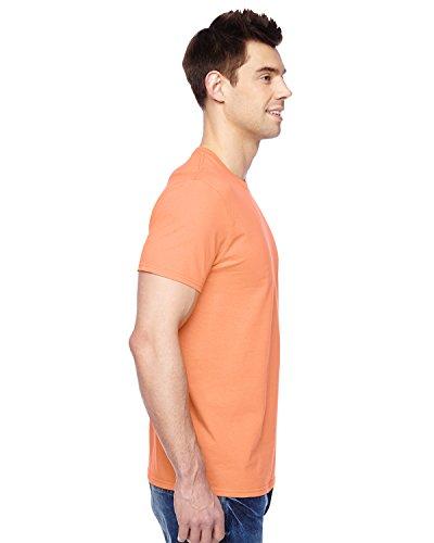 SF45Fruit of the Loom Herren T-Shirt Orange - Orange Sherbet