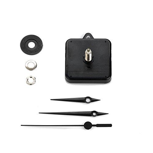 Clock-it Meccanismo Orologio Di Qualità - Extra Lungo, Lancette, Canotto H 24mm / filettatura 18mm. Azienda italiana specializzata