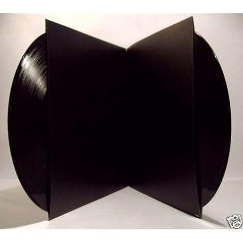 """1 COPERTINA DOPPIA in CARTONCINO per LP 33 giri 12"""" Double cardboard (Nero)"""