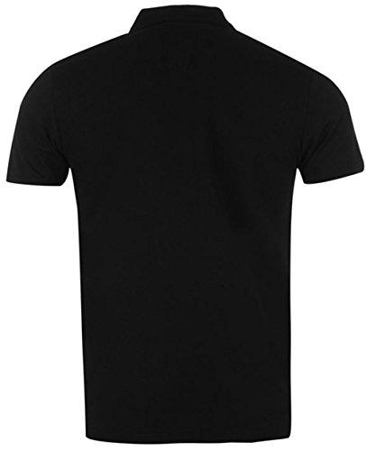 Kangol Herren Poloshirt Mehrfarbig Mehrfarbig Mehrfarbig - Schwarz