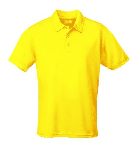 Just Cool - Performance - Performance Polo Shirt, atmungsaktiv, Shirt, atmungsaktiv, Sun Yellow