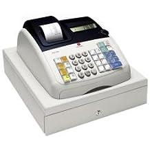Olivetti ECR 7100 - Caja registradora (200 consultas, 9 dígitos), color blanco