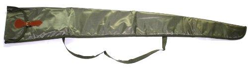 Gewehrtasche 128cm grün/gepolstert mit Innenfutter für Luftgewehre/Flinten (Luftgewehr Flinte)