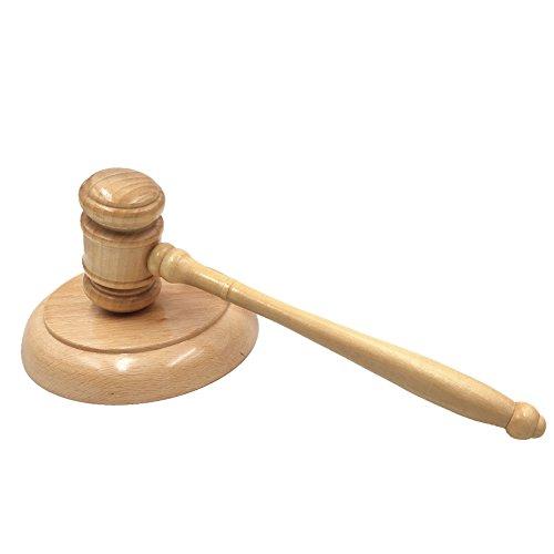 Auktionshammer & Resonanzblock, für Anwalt, Studenten, Richter, Auktion, Verkauf, Meetings, einzigartiges Handwerk