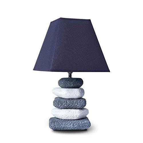 ASDFGH Mesita de luz de la lámpara, Moderno Creativo de cerámica ...