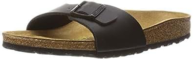 Birkenstock Madrid 40791, Chaussures Mixte adulte Noir 37 EU (normal)