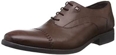 Ruosh Men's Brown Leather Formals Shoes - 11 UK/India (45 EU)(12 US)(1103500402)