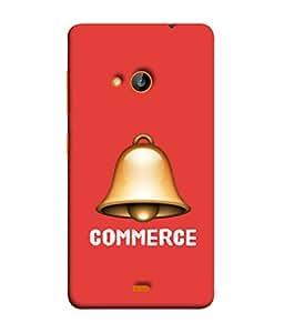 Fuson Designer Back Case Cover for Nokia Lumia 730 Dual SIM :: Nokia Lumia 730 Dual SIM RM-1040 (Christmas Bells Ding Dong Bajao)