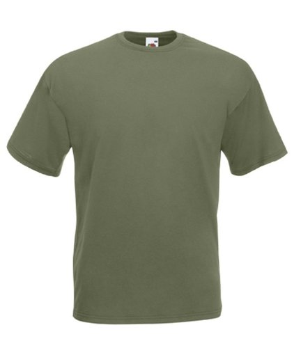 Fruit of the Loom Herren T-Shirt Classic Olive