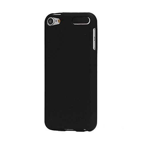 bagmaxx Apple iPod Touch 5 6 Soft TPU Gel Case Frosted Matt Flexibel Schutz Hülle Cover Bag Schwarz (5 Case Ipod Gel Touch)