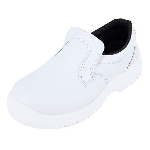 Chaussure de Cuisine Blanche avec Protection sécurité...