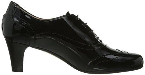 Preto Sapatos senhoras De black Bombas Evita Laço fXqnwxFAHX