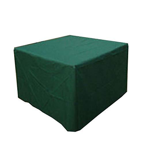 CHAOXIANG Gartenmöbel Abdeckung Abdeckplane Draussen Garten Möbel Wasserdicht Quadrat Sitzbezug, 6 Größen (Farbe : Green, größe : 152x104x71cm)