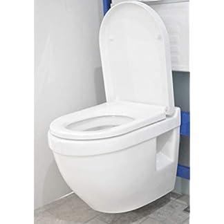 31qsT54kyNL. SS324  - D Floro compacta en forma de inodoro de pared corta proyección WC WH Pan maxtto desmontaje rápido