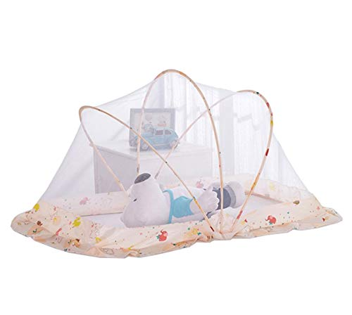 BettmatratzeKindermoskitonetz faltbares Baby-Konto faltendes Baby-Bett-freie Installation Moskitonetz